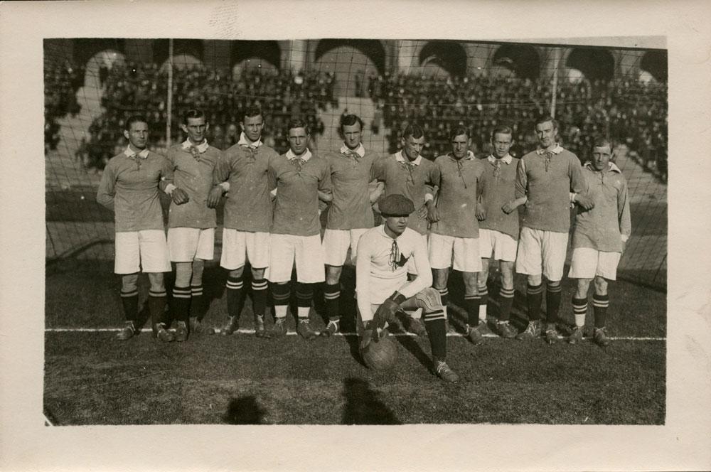 lagbild IFK Eskilstuna SM-Guld 1921